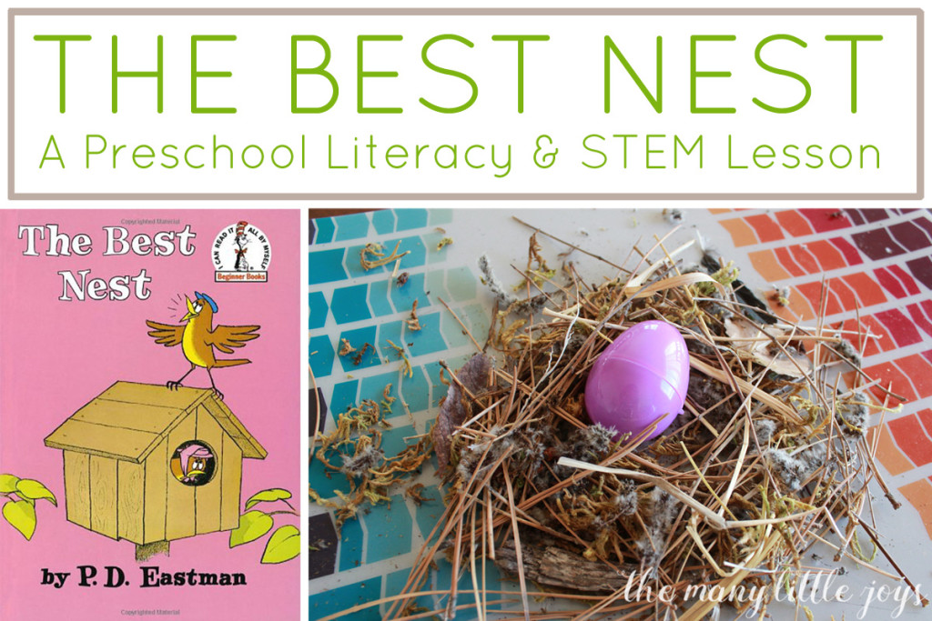 Kinder Garden: The Best Nest: A Literacy And STEM Preschool Lesson