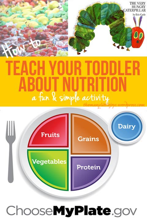 Helping Your Toddler Understand Nutrition A My Plate