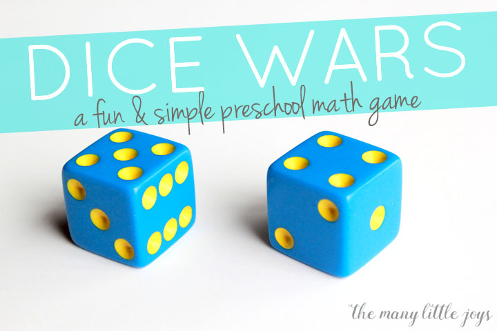 Dice Wars: A simple & fun math game for kids - The Many ...